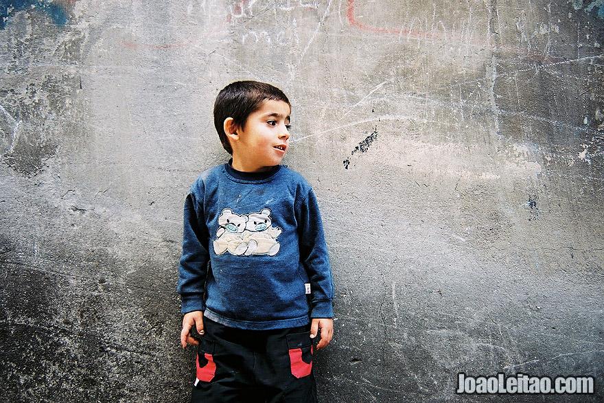 Photo of happy boy in Istanbul, Turkey - Europe