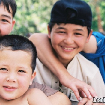 Photo of Boys in Panfilov Park in Almaty, Kazakhstan - Central Asia