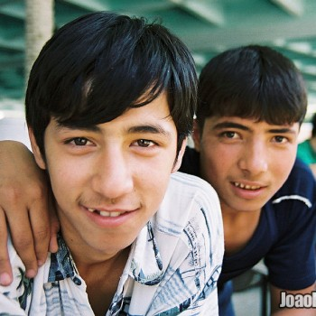 Boys in Bulhara, Uzbekistan - Central Asia