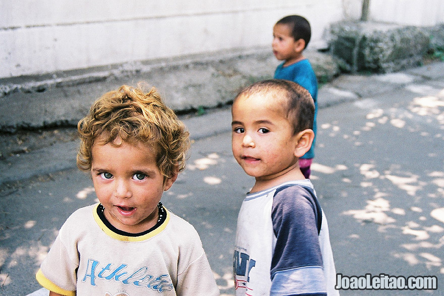Children in Almaty aka Alma-ata, South Kazakhstan, Central Asia