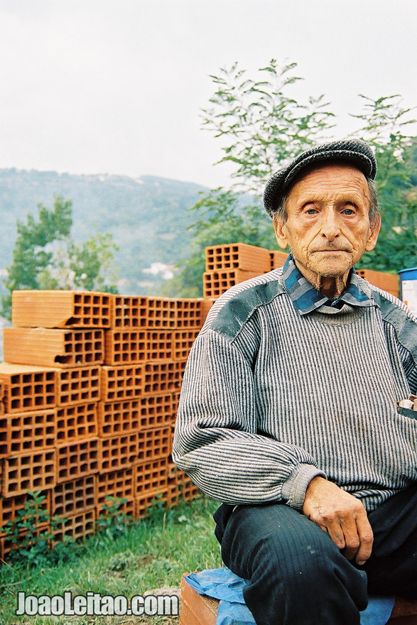 Photo of construction worker in Tetovo, Sar Planina Mountains, Macedonia - Eastern Europe