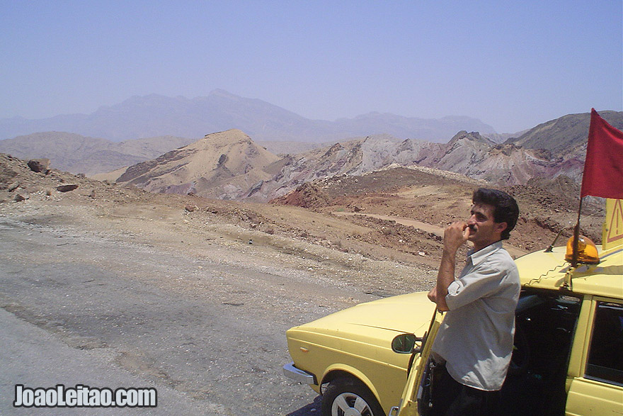 Photo of Man waiting for truck to arrive in Zagros Moutains, Iran - Middle East