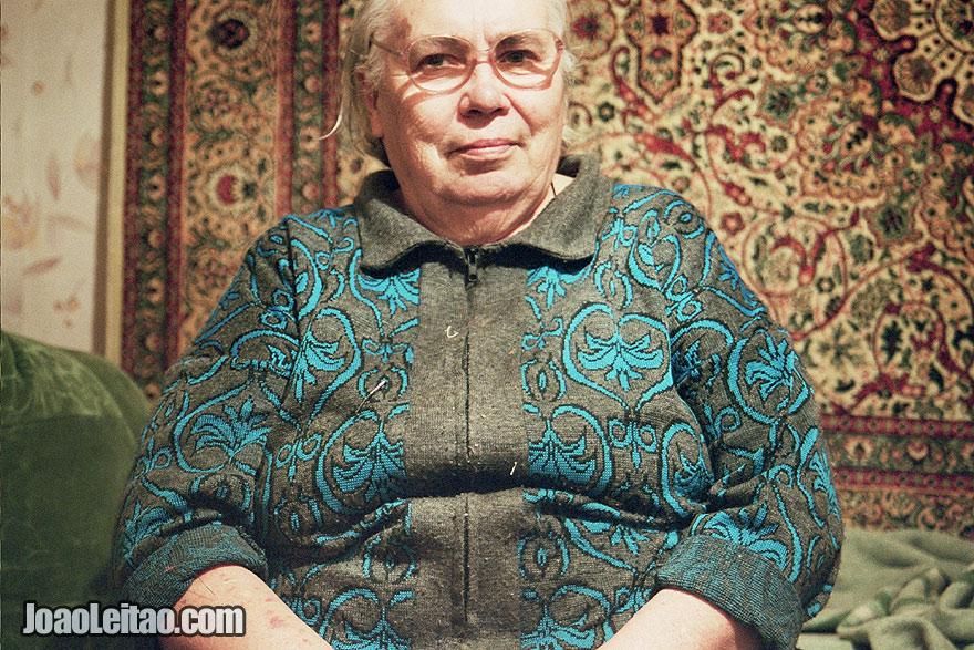 Russian Woman in Suzdal, Russia - Eastern Europe