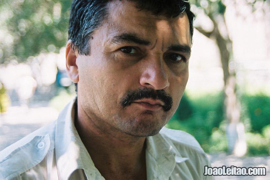 Uzbek man in Bukhara, Uzbekistan - Central Asia