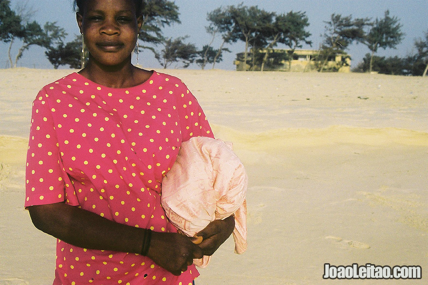 Photo of Woman in Saint-Louis Beach, Senegal - West Africa