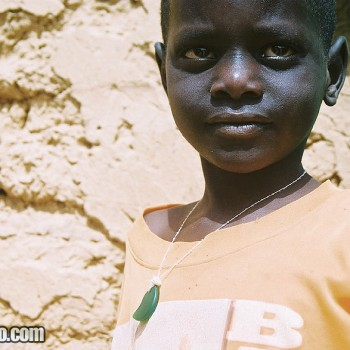 Photo of Boy in Ndioum village, Senegal - West Africa
