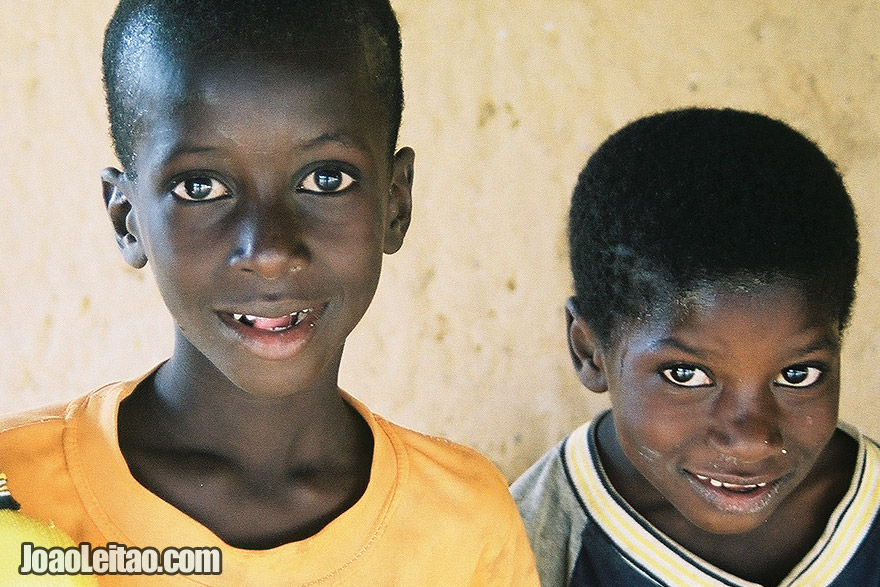 Photo of African boys in Ndioum village, Senegal -West Africa