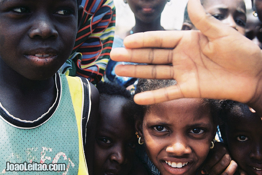 Photo of Children playing, Senegal - West Africa