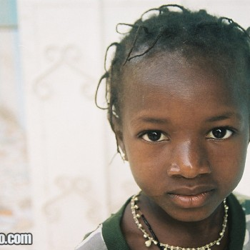 Photo of Girl in Serekunda, The Gambia West Africa