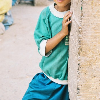 Boy in the old market of Rissani, Sahara Desert, Morocco - North Africa