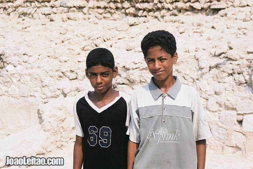 Boys in Qeshm Island on the Persian Gulf, Iran - Middle East
