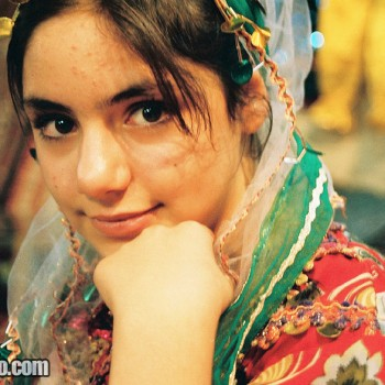 Girl in Shiraz market, Iran