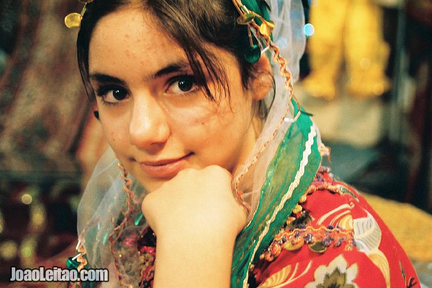 Girl in Shiraz market, Iran