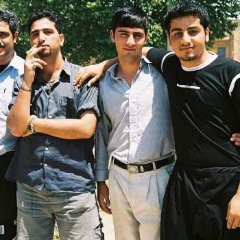 Photo of Iranian Men posing, Iran - Middle East