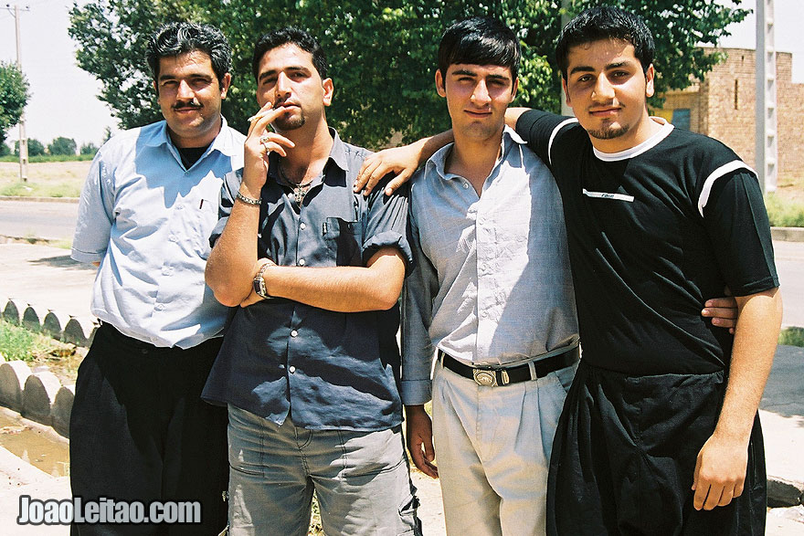 Photo of Iranian Men posing, Iran - Middle East