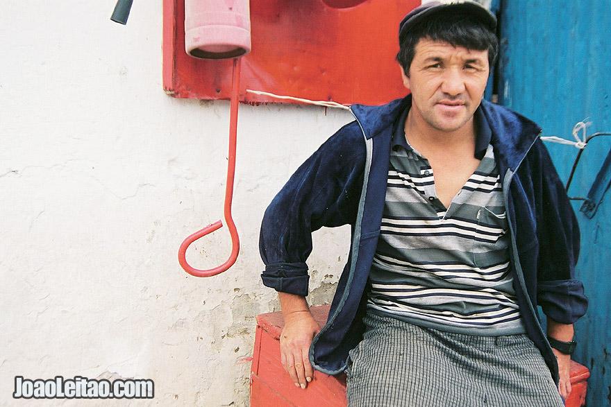 Photo of Farm worker in Almaty, Kazakhstan - Central Asia