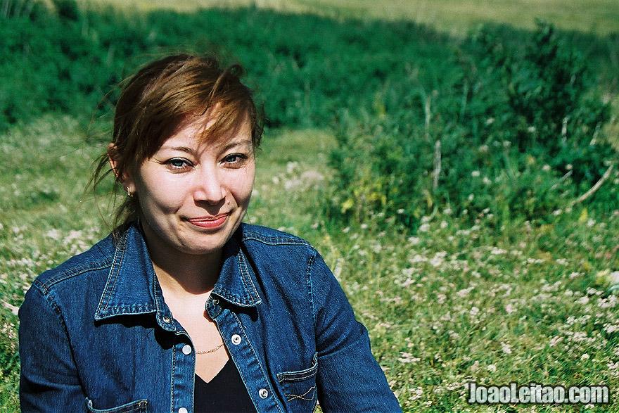 Photo of Modern dressed Kazakh woman in Almaty, Kazakhstan - Central Asia