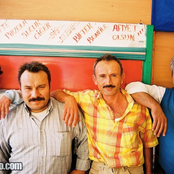 Photo of friendly Turkish men in Bursa, Turkey - Middle East