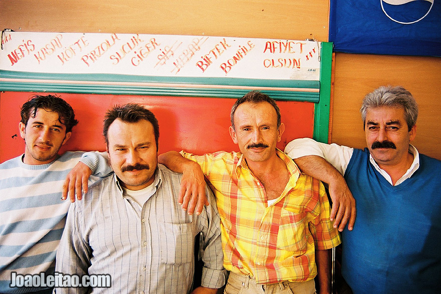 Photo of friendly Turkish men in Bursa, Turkey - Middle East