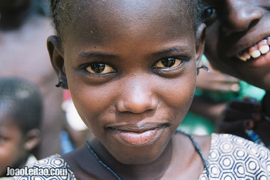 Photo of Girl in Ndioum village, Senegal - West Africa