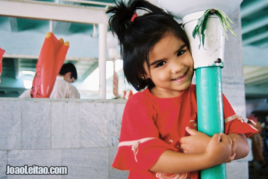 Young Girl in Bukhara, Uzbekistan - Central Asia
